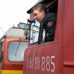 Машинист локомотива РЖД