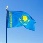 Казахский флаг