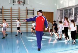 Учитель физкультуры