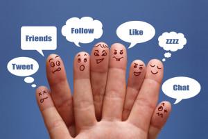 Лайки в соцсетях